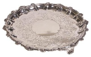 Avoid storing silver-plated platters in plastic or newspaper; they tarnish faster.