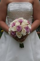 A silk bridal bouquet can last forever as a keepsake of your special day.
