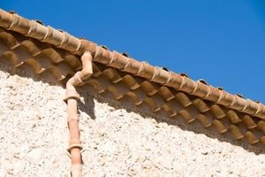 Rain gutters are needed in any area that receives a lot of rain.