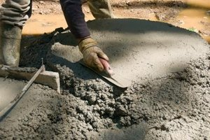 Prepare the site properly before pouring the cement.