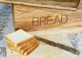 White bread is a fast carb, which is high on the glycemic index.