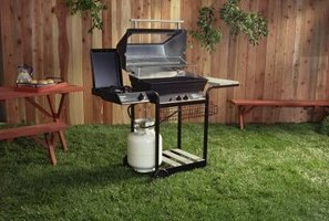 Gas-fueled grills can be powered by propane or natural gas.