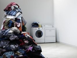 Too many bulky items placed in a washer can cause a load to become imbalanced.