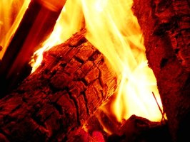 A fireplace must contain a gas line to install a log lighter.