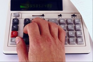 A calculator assist with figuring sales taxes and discounts.