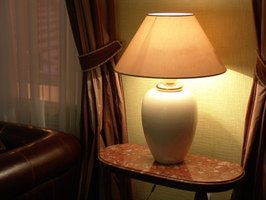 Illuminate your home with indoor table lamps.