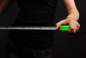 You can use your height, weight and age to figure out how much body fat you have.
