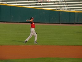 Amateur players often compete on traveling baseball teams.