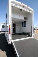 Toy haulers need large open interior spaces to use as garage space.