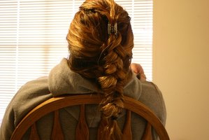 Cornrows are similar to french braiding, just on a much smaller scale.