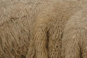 Use special care when cleaning fake sheepskin shearling garments.
