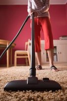 Sprinkle baking soda over the carpet before vacuuming it to remove odors.