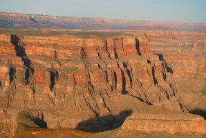 The Grand Canyon is one of America's most well known landforms.