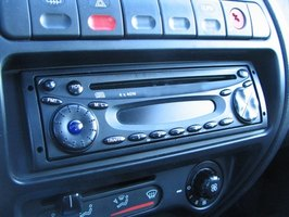 Car radio connections are customized to individual vehicles.