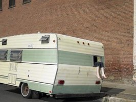 A new paint job will extend the life of your travel trailer.