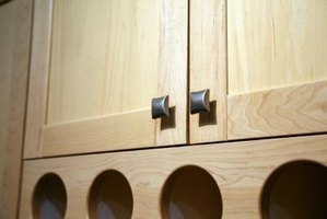 Cabinet knobs can add a touch of style and elegance to a kitchen.