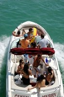 Many factors contribute to the fuel use requirements of a boat.