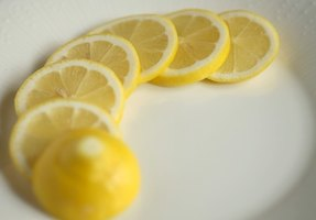 Lemon juice is acidic and rates a two to three on the pH scale.