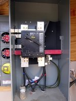 A disconnect switch protects workers near high-voltage appliances.