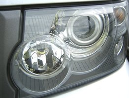 Painted headlight housings are a popular modification among import car enthusiasts.