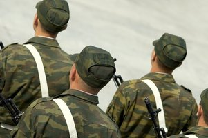 Military uniforms combine aesthetics with practical needs.