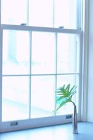 It is simple to take apart a double hung window.