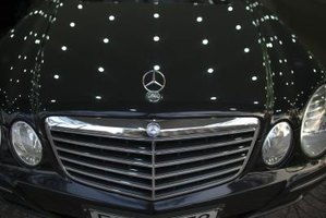 The Mercedes Kompressor C180 features distinctively German luxurious styling.