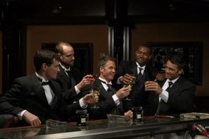 Arrange an office bachelor party for your co-worker.