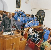 Black History Month is celebrated in churches across the land.