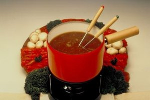"Fondue comes with the French word fondre, which means ""to melt."""
