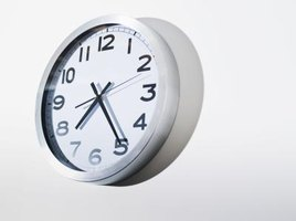 Set your clock ahead a five minutes to try avoid being late for class.