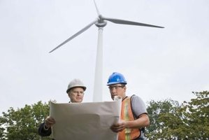 Renewable energy sources such as wind power are likely to be used in the future.