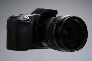 Many SLR and DSLR lenses feature image stabilization.