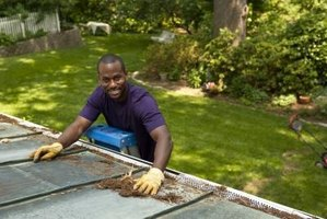 Get to know your gutters by setting up a ladder and inspecting the mess.