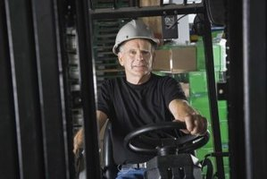 Forklifts are used in a variety of jobs in the industrial world.