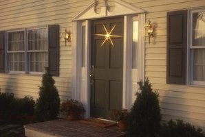 Create a front entrance that fits your own taste.