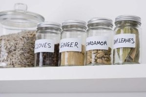 Keep track of when to replace your herbs and spices by dating the jars.