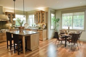 An invitng kitchen is a wonderful feature in a home.