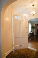 How to fix a sagging entry door ehow for How to fix a sagging exterior door
