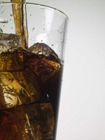 Soft drinks like cola are made with a range of ingredients.