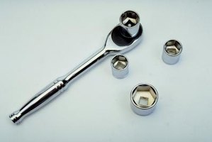 You can use a socket wrench with a variety of socket sizes.