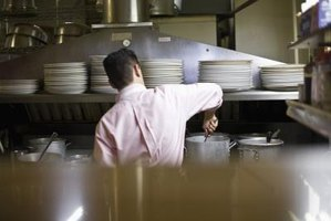 The layout of a commercial kitchen requires careful planning.