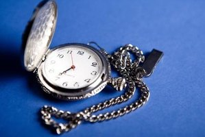 An engraved silver pocket watch can make a special gift for his retirement.