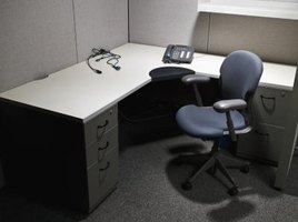 Boring cubicles can make the work day miserable.