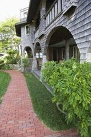 Give old concrete a fresh look with pavers.