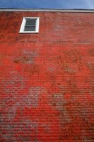 Salt stains can be removed from brick with the right chemicals.