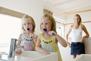 Teach children the importance of brushing their teeth with a variety of free activities.