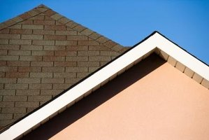 Shingled roofs can have leaks which you can locate from the inside the attic.
