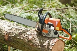 Chainsaws use a cooling system on the starter side to prevent overheating.
