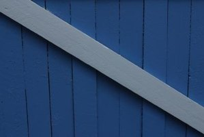 Fences can be braced to prevent weather damage.